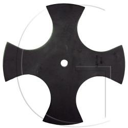 Lame coupe bordure UNIVERSELLE - 4 Faces - Ø Axe 12,7mm - Ø 228,6mm