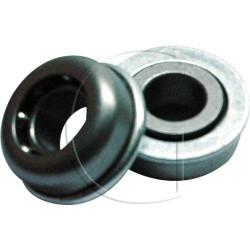 roulements roues Hauteur : 12,50 mm     Diamètre intérieur : 12,20 mm     Diamètre extérieur : 27,00 mm
