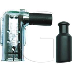Antiparasite - Connecteur de bougie BERU en metal pour 14mm