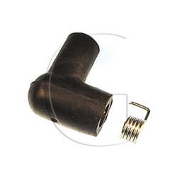 Antiparasite - Connecteur de bougie UNIVERSEL non déparasité avec borne fixe 7mm