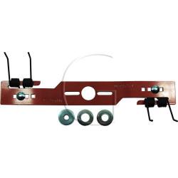 lame à emousser universel pour modèle quattro spring bagues de réduction inclus x3