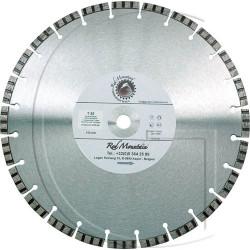 Disque diamant de qualité supérieure, segment turbo Ø 350mm x 25,4mm