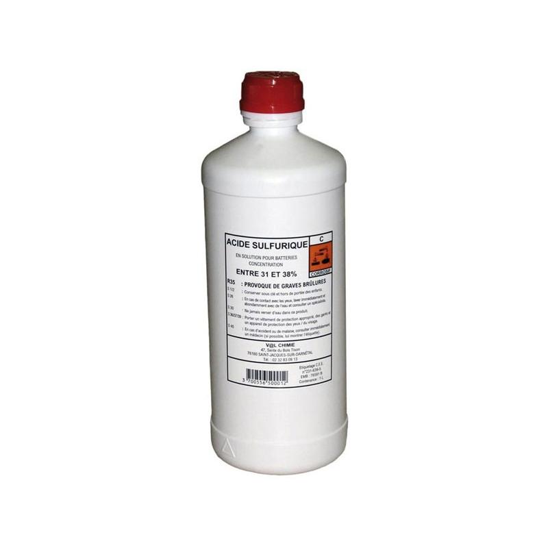 Acide de batterie 1 Litre