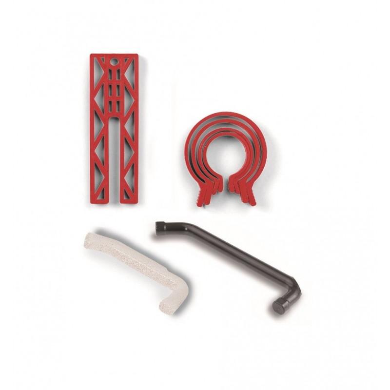 Kit de colliers a segments et bloque pistons TECOMEC pour moteur 2 temps