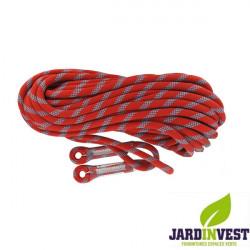 Corde de rappel pour élaguage longueur 20 mètres Ø 11mm norme EN353-2