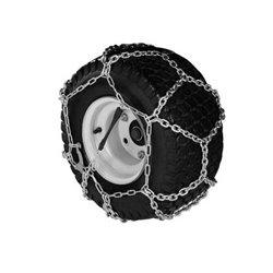 Chaines à neige pour pneumatique 20 X 8.00 - 8 / 10 modèle à croisillons ( la paire )