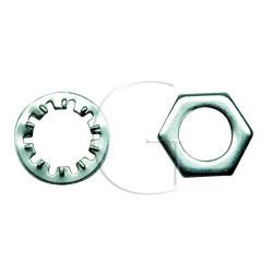 Ecrou et rondelle de contacteur à clé UNIVERSEL