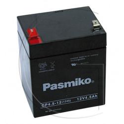 Batterie 12 volts 4,5 ampères pour tondeuse
