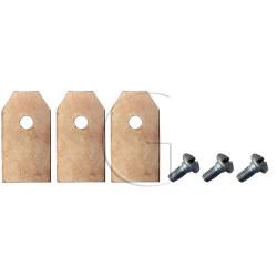 pieces pour automower lame husqvarna n°orig 535138701, 5355138702,ect.... pour mod g2 ect..