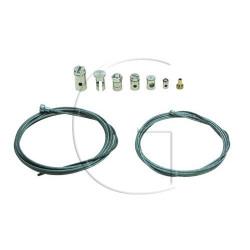 Cable d'accélérateur UNIVERSEL (kit complet) 9 pièces