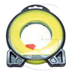Fil nylon rond débroussailleuse Ø 2mm x 12m