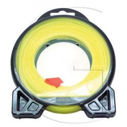 Fil nylon rond débroussailleuse Ø 2,4mm x 15m