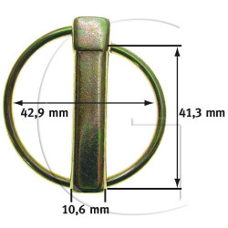 Goupilles UNIVESELLE 41,3mm