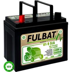 Batterie tracteur tondeuse sans entretien 12V - U19SE - + a gauche fulbat