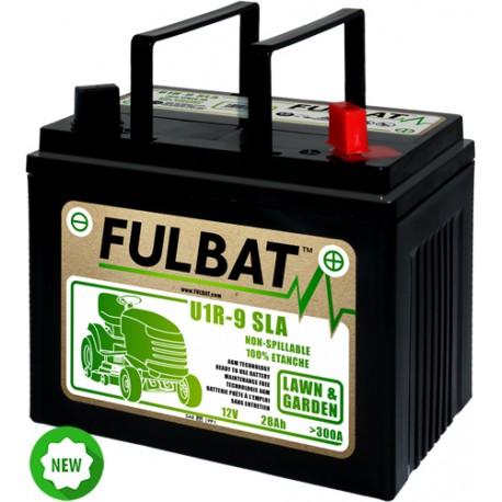 Batterie tracteur tondeuse 12V 28AH + a droite fulbat