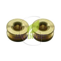 Oeillets de tête à fil nylon universel Ø ext 16 mm / Ø int 4.30 mm