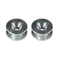 Oeillets de tête à fil nylon universel Ø ext 16 mm / Ø int 3.71 mm