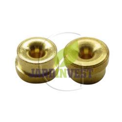Oeillets de tête à fil nylon universel Ø ext 16 mm / Ø int 3.80 mm