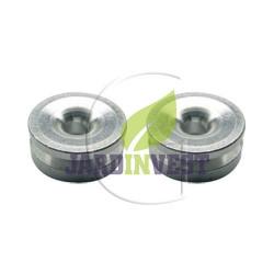 Oeillets de tête à fil nylon universel Ø ext 24 mm / Ø int 6.14 mm