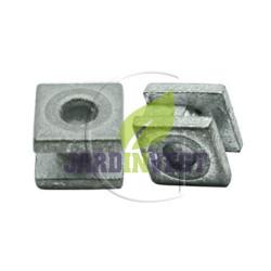 Oeillets de tête à fil nylon UNIVERSEL carré Ø int 4.50 mm