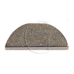 Clavette d'arbre de lame tondeuse 15.87mm X 4.76mm