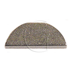 Clavette d'arbre de lame tondeuse 19.05mm X 4.76mm