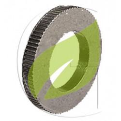 Bague de réduction pour lames de tondeuse de Ø25.4 en Ø12.7mm