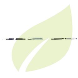 Cable d'accélérateur pour debroussailleuse KAWASAKI