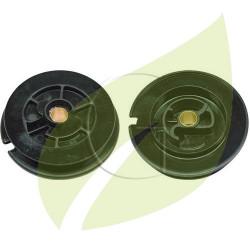 Poulie de lanceur decoupeuses STIHL TS400, TS410, TS420, 42231901001