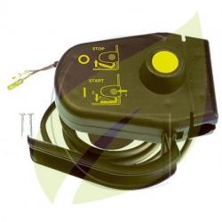 Interrupteur automatique pour tondeuse électrique