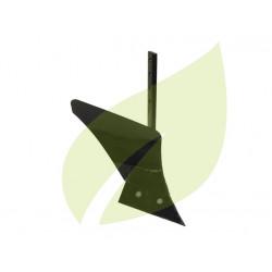 Charrue simple soc 225 x 70 mm avec versoir de 33 cm