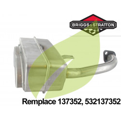 Pot d'échappement BRIGGS & STRATTON 137352, 532137352