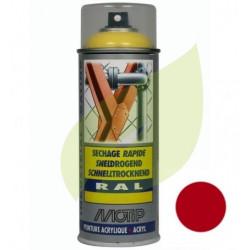 Bombe de peinture rouge MTD aérosol 400 ml