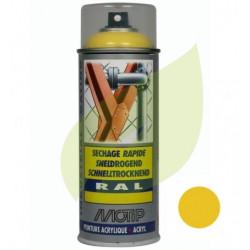 Bombe de peinture jaune GRANJA aérosol 400 ml