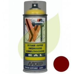 Bombe de peinture rouge TORO aérosol 400 ml