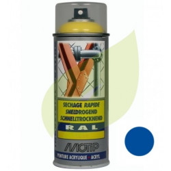 Bombe de peinture bleu ISEKI STAUB aérosol 400 ml