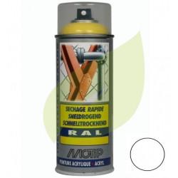 Bombe de peinture BLANC STANDARD aérosol 400 ml
