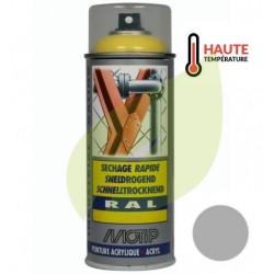 Bombe de peinture ALU HAUTE TEMPERATURE aérosol 400 ml