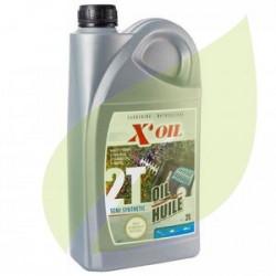 Huile moteur 2 temps Semi Synthèse 2 Litres X'Oil