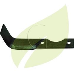 Couteau de fraise AGRIA gauche Longueur 185 mm Largeur 40 mm
