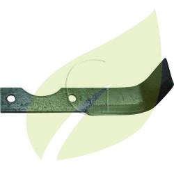 Couteau de fraise AGRIA droit Longueur 185 mm Largeur 30 mm