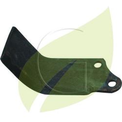 Couteau de fraise AGRIA gauche Longueur 155 mm Largeur 55 mm