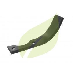 Couteau de fraise droit motobineuse BOUYER 200mm largeur 40mm