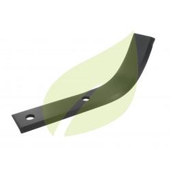 Couteau de fraise droit motobineuse BOUYER 240mm largeur 40mm