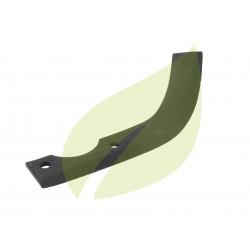 Couteau de fraise droit motobineuse BRIBAN 220mm largeur 40mm