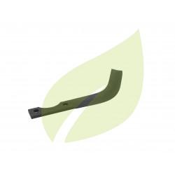 Couteau de fraise droit motobineuse CARRARO 185mm largeur 25mm