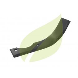 Couteau de fraise droit motobineuse COURMONT 200mm largeur 40mm