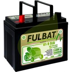 Batterie tondeuse autoportée 12V 28AH - 12N24-4A - + a gauche