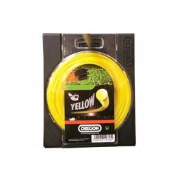 Fil débroussailleuse Roundline Yellow - 1.60mm x 15m