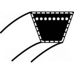 Courroie plateau coupe 102 cm ALKO t13-102, t16-102, t17-102